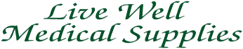 Livewell Medical Supplies Logo