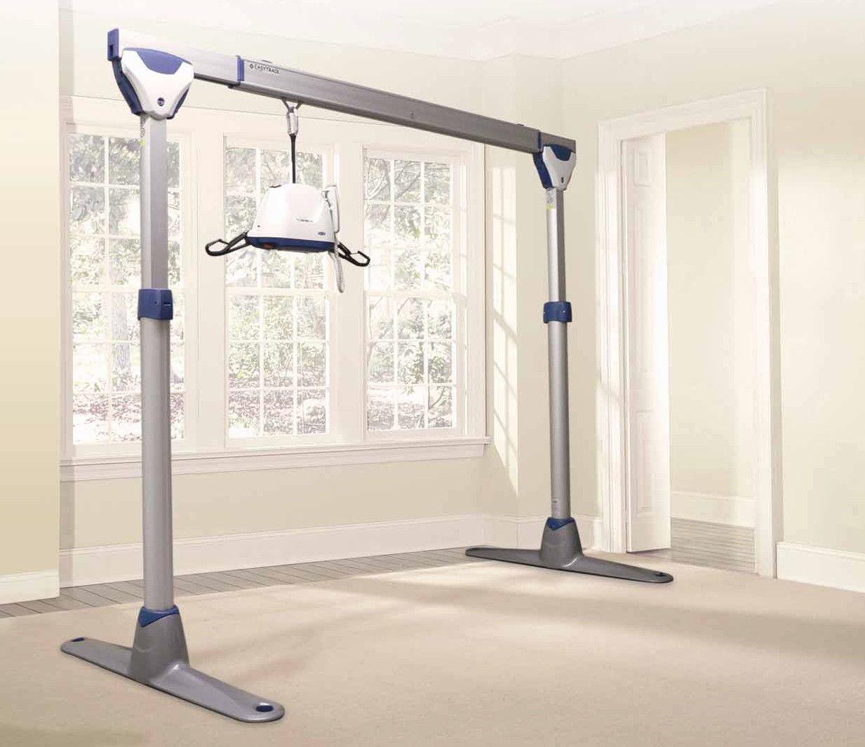 overhead patient lift track systems